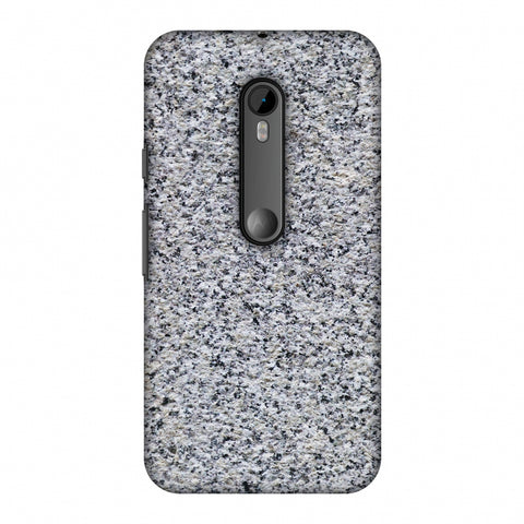 Granite Marble Slim Hard Shell Case For Motorola Moto G 3rd Gen