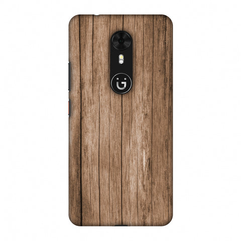 Walnut Wood Slim Hard Shell Case For Gionee A1