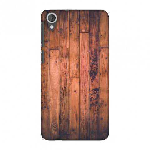 Rusty Wood Slim Hard Shell Case For HTC Desire 820