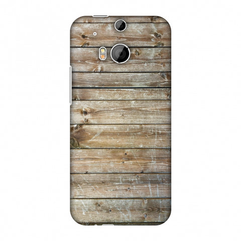 Real Wood Slim Hard Shell Case For HTC One M8