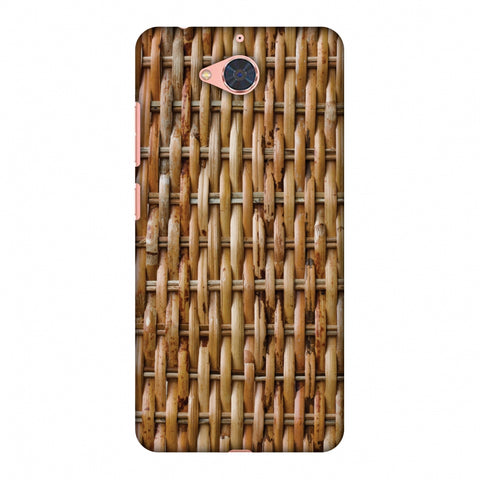 Wicker Wood Slim Hard Shell Case For Gionee S6 Pro