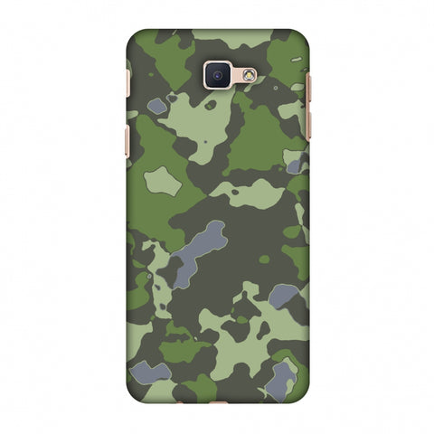 Camou - Forest Green Slim Hard Shell Case For Samsung GALAXY J5 Prime