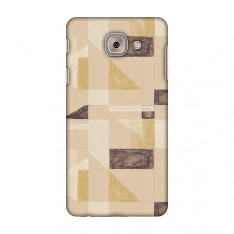 Sooty Pastels - Beige And Brown Slim Hard Shell Case For Samsung Galaxy J7 Max