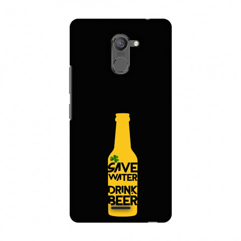 Save Water Drink Beer - Black Slim Hard Shell Case For Infinix Hot 4 Pro