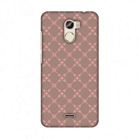 Tribal Mesh - Antique Brass Slim Hard Shell Case For Gionee X1