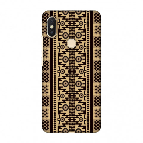 Stripes Of Culture - SAndstone Slim Hard Shell Case For Xiaomi Redmi Y2-S2