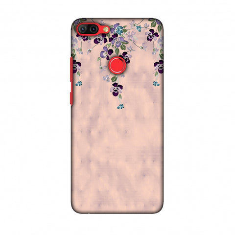 Butterfly Poppy - Violet And Pale Pink Slim Hard Shell Case For Infinix Hot 6 Pro