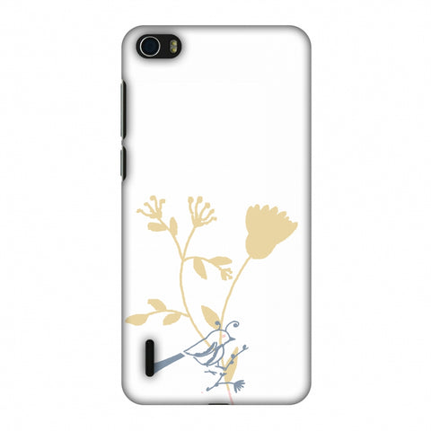 The Doodle Birdie Slim Hard Shell Case For Huawei Honor 6