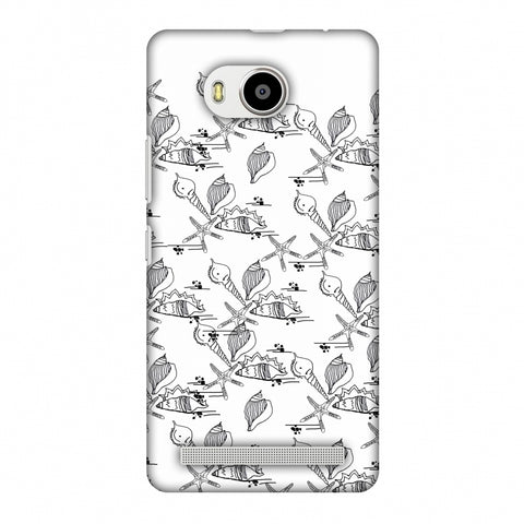 Sea Shells Repeat Slim Hard Shell Case For Lenovo A7700