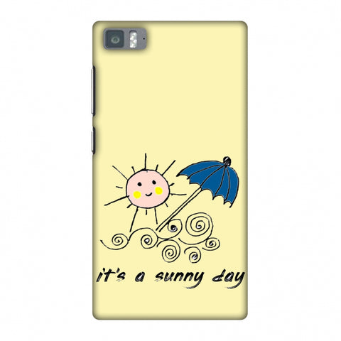 Sunny Day - Yellow Slim Hard Shell Case For Xiaomi Mi 3