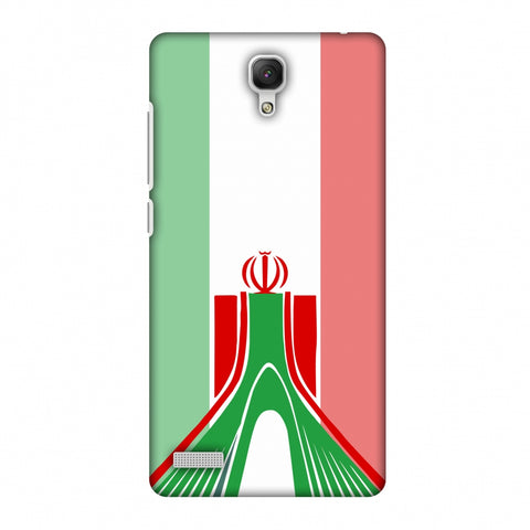 Azadi Monument - Iran Flag Slim Hard Shell Case For Xiaomi Redmi Note Prime