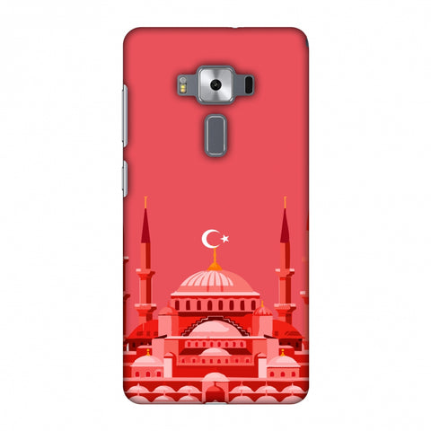 Blue Mosque - Turkey Flag Slim Hard Shell Case For Asus Zenfone 3 Deluxe ZS570KL