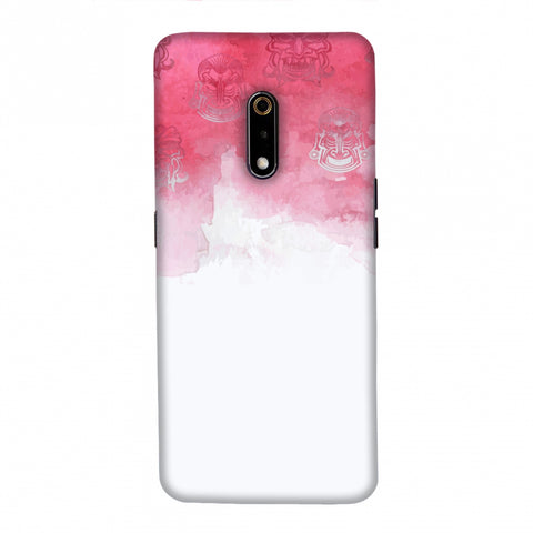 Indonesia flag- Watercolour Slim Hard Shell Case For Realme X