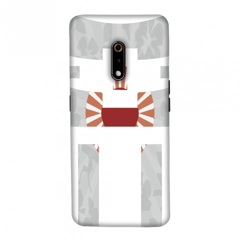 Itsukushima Shrine- Japan flag Slim Hard Shell Case For Realme X