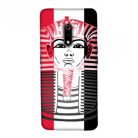 Land of Pharaoh- Egypt flag Slim Hard Shell Case For Realme X