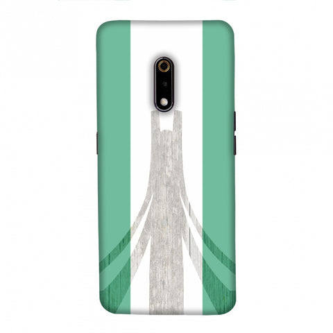 Martyrs Memorial- Nigeria flag Slim Hard Shell Case For Realme X