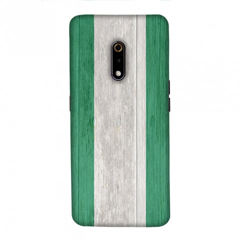 Nigeria flag- Textures Slim Hard Shell Case For Realme X