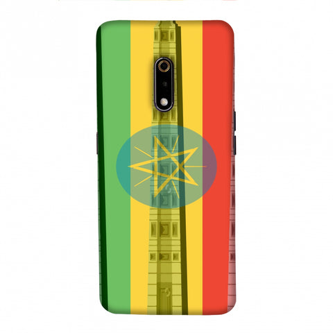 Obelix of Axum- Ethiopia flag Slim Hard Shell Case For Realme X