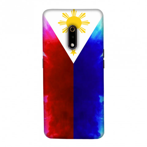 Philippines flag- Smoke shades Slim Hard Shell Case For Realme X