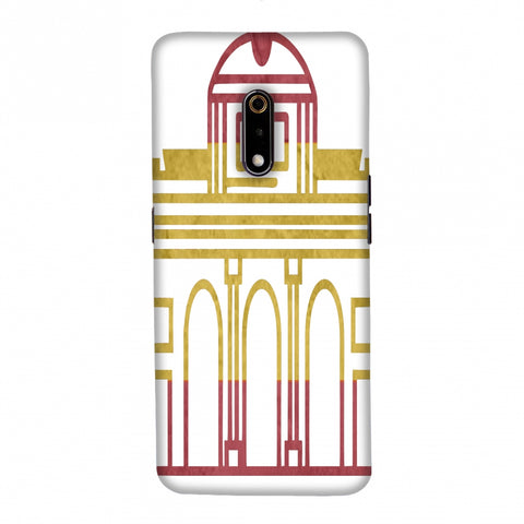 Puerta De Toledo- Spain flag Slim Hard Shell Case For Realme X
