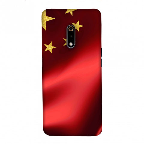 China flag- Silk land Slim Hard Shell Case For Realme X