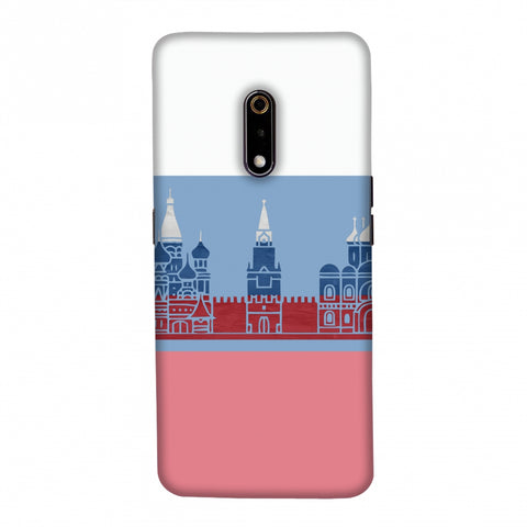 St.Petersburg- Russia flag Slim Hard Shell Case For Realme X