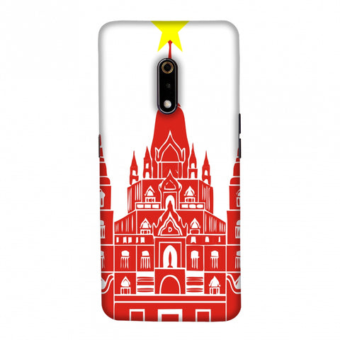 Tan Din Church- Vietnam flag Slim Hard Shell Case For Realme X