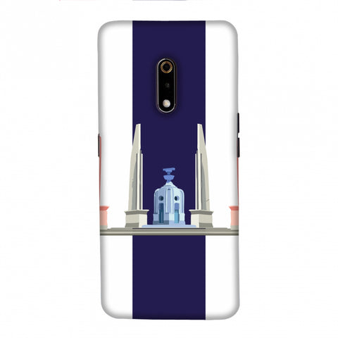 The Democracy Monument- Thailand flag Slim Hard Shell Case For Realme X