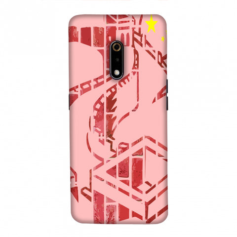 The Great Wall- China flag Slim Hard Shell Case For Realme X