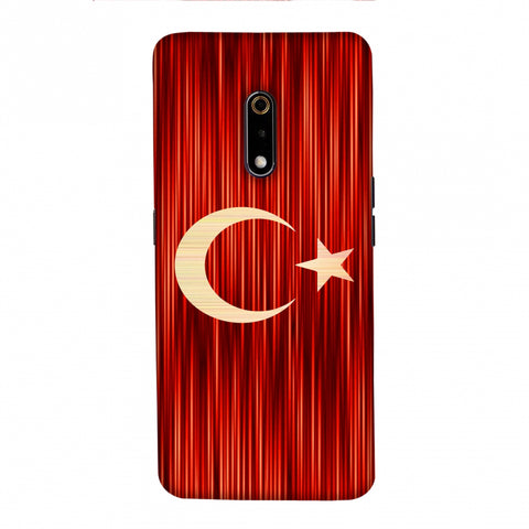 Turkey flag- Strokes Slim Hard Shell Case For Realme X