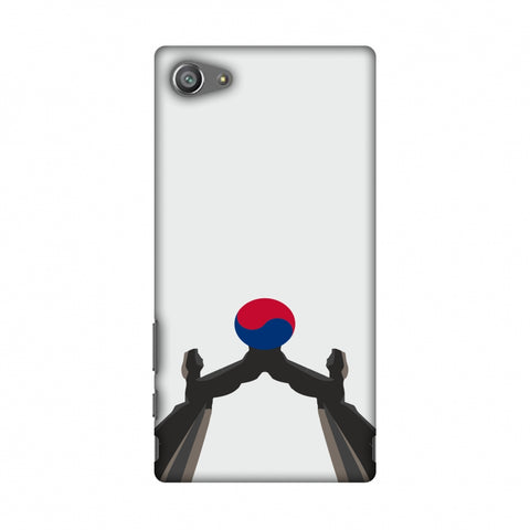 Unification Arch - South Korea Flag Slim Hard Shell Case For Sony Xperia Z5 Compact