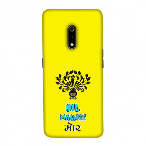 Dil Maange More- Yellow Slim Hard Shell Case For Realme X