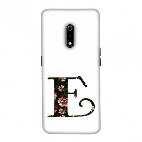 Floral Fill- E Slim Hard Shell Case For Realme X