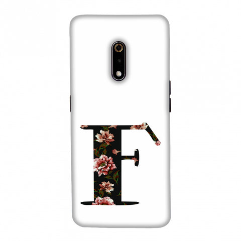 Floral Fill- F Slim Hard Shell Case For Realme X