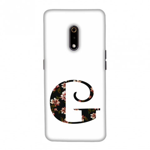 Floral Fill- G Slim Hard Shell Case For Realme X