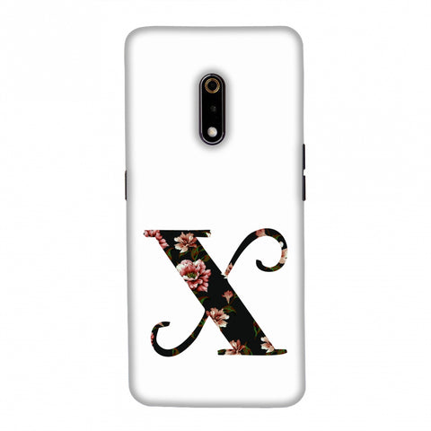 Floral Fill- X Slim Hard Shell Case For Realme X
