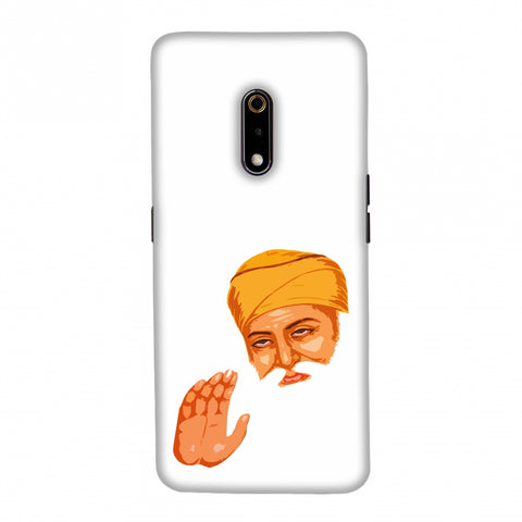 Guru Nanak Dev Ji Slim Hard Shell Case For Realme X