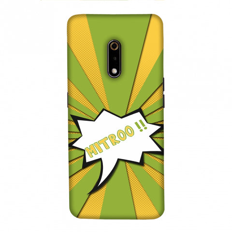 Mitroo - Grass green Slim Hard Shell Case For Realme X