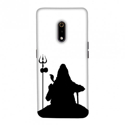 Shiva - Meditation - White Slim Hard Shell Case For Realme X