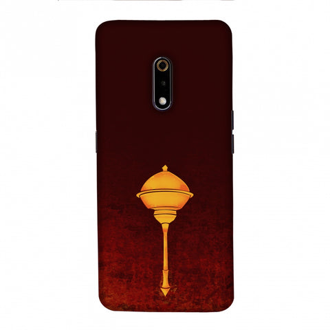 Hanuman - The Protector - Burnt Orange Slim Hard Shell Case For Realme X