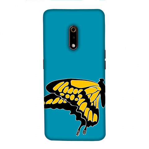 Butterfly - Posterised Slim Hard Shell Case For Realme X