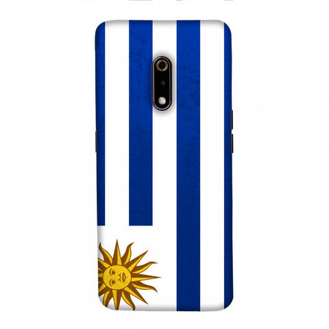Football - Love For Uruguay Slim Hard Shell Case For Realme X