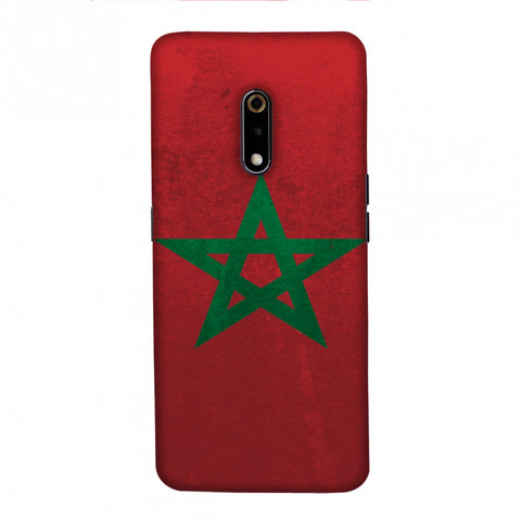 Football - Love For Morocco Slim Hard Shell Case For Realme X