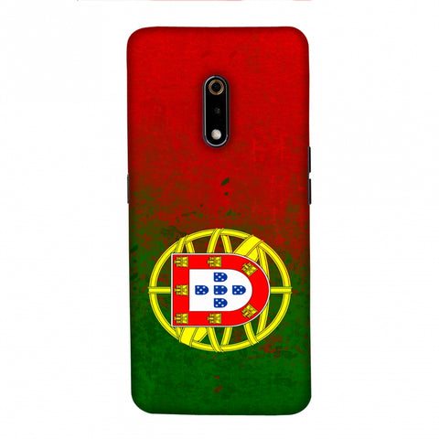 Football - Love For Portugal Slim Hard Shell Case For Realme X