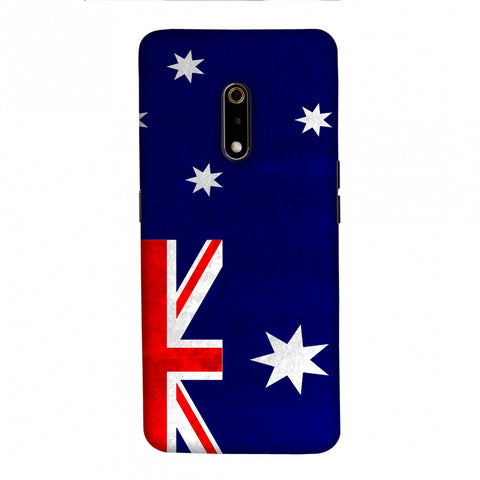 Football - Love For Australia Slim Hard Shell Case For Realme X