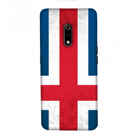 Football - Love For IcelAnd Slim Hard Shell Case For Realme X