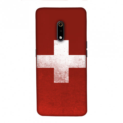 Football - Love For SwitzerlAnd Slim Hard Shell Case For Realme X