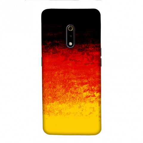 Football - Love For Belgium Slim Hard Shell Case For Realme X
