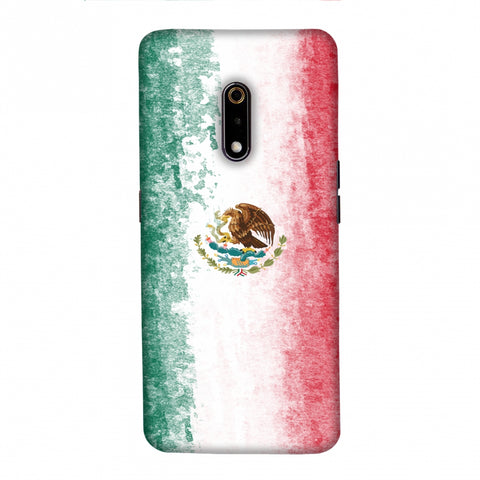 Football - Love For Mexico Slim Hard Shell Case For Realme X