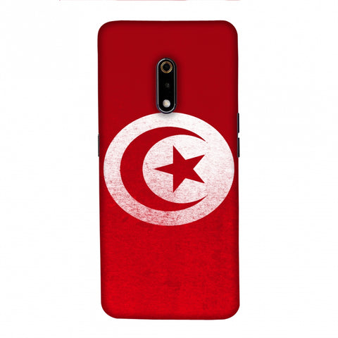 Football - Love For Tunisia Slim Hard Shell Case For Realme X